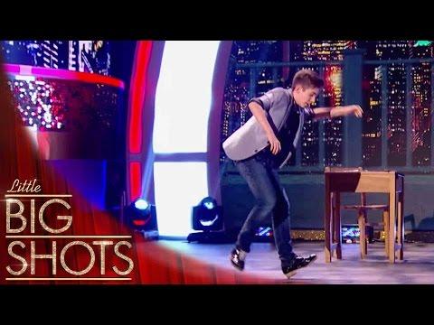World Champion tap dancer shows off his skills | Little Big Shots