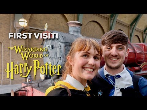 BRITISH HARRY POTTER FANS EXPERIENCE WIZARDING WORLD AT UNIVERSAL STUDIOS