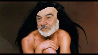 Sean Connery Impersonator Striptease