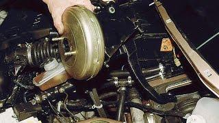 Как снять вакуумный усилитель и педаль тормоза. ВАЗ 2110-2112.(Вакуумный усилитель, как правильно его снять, а также снимаем тормозную педаль. ВАЗ. ( Лада), 2014-10-04T16:38:49.000Z)
