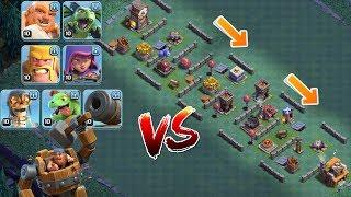 ALLE TRUPPEN vs. TROLL BASE! || CLASH OF CLANS || Let