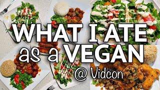 WHAT I ATE AS A VEGAN IN CALIFORNIA (Vegan Around The World #10)