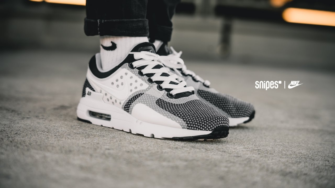 lo mismo golf Circular  SNIPES | NIKE Air Max Zero - YouTube