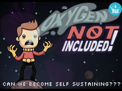 Oxygen Not Included Part 5 | Can we become self sustaining??? | 1080p 60 FPS