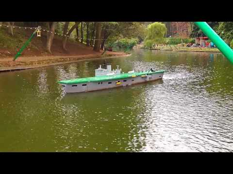 Naval Warfare, Peasholm Park, Scarborough