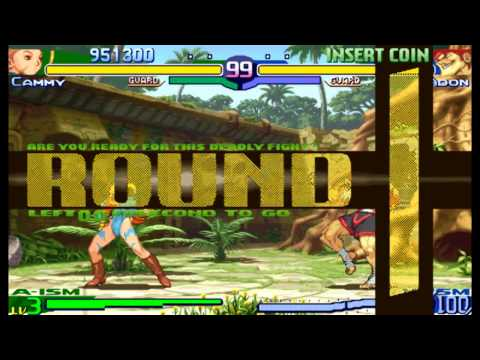 Street Fighter Alpha 3(Zero 3) Expert difficulty Cammy White 2:0 Playthrough