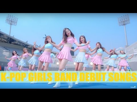 K-pop Girls Band Debut Songs (1997-2016)