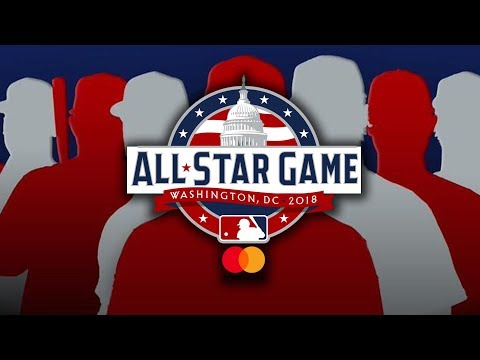 2018 MLB AllStar Game Rosters! AllStar Starters & Reserves