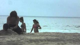 Karlie Montana and Amanda Jeaninne at the beach 2
