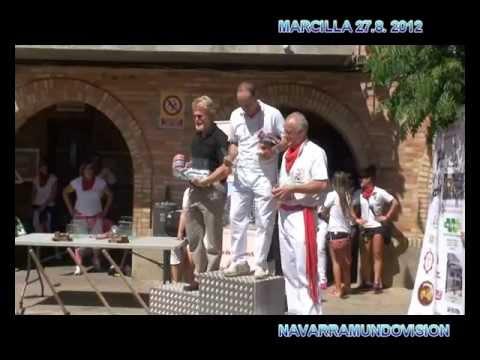 DIA 27 8 2012 TXISTORRADA Y RABIOSA  FIESTAS DE MARCILLA TVM NAVARRAMUNDOVISION