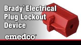 How to Install A Brady Electrical Plug Lockout Device | Emedco Video