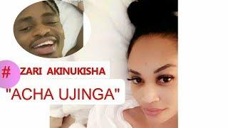 KUMECHAFUKA! Zari Kichaa Kimepanda Video Ya Diamond Ya Jana , Diamond AJUTA