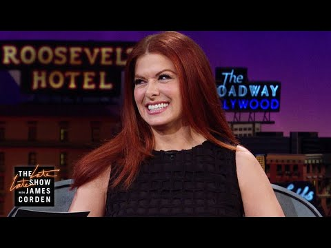 Debra Messing Didn't Grasp Credit Cards Right Away