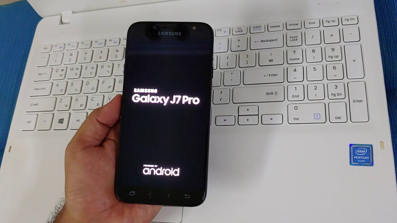 SAMSUNG Galaxy J7 Pro (SM-J730GM) U10 FRP/Google Account Bypass Android 9 WITHOUT PC - NEW 2020
