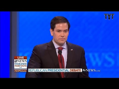 Rubio Repeats Himself 4x In Epic Debate Fiasco