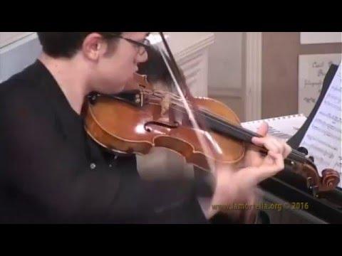 "Duo G. Gibboni - F. Silvestro esegue N. Paganini - Variazioni su ""God Save The King"""