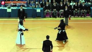 Kendo「剣道」- 15th WKC Men Team Final - 1st Shiai (Japan vs Korea) [VID:20120527004]