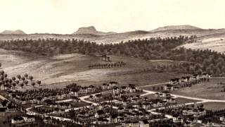 Leominster Massachusetts 1886 Panoramic Bird