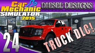 Car Mechanic Simulator 2015: EP24: Pick-Up Truck DLC Restoration! (60FPS)