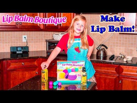 Lip Balm Boutique How To Make Lip Balm Chocolate Orange Diy Lip Balm Toy Unboxing