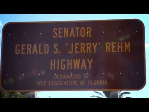 FL580 is now Jerry Rehm Highway!