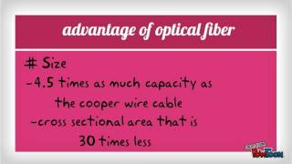 ADVANTAGES AND DISADVANTAGES OF OPTICAL FIBER AND