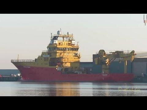 offshore research & survey vessel EDDA FONN LMER3 IMO 9273662 Emden