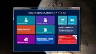 Pre Windows 10 backup and Recovery using Paragon Software