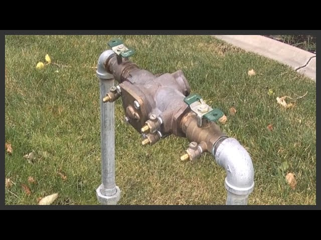 Install a Backflow Preventor For Your Irrigation System