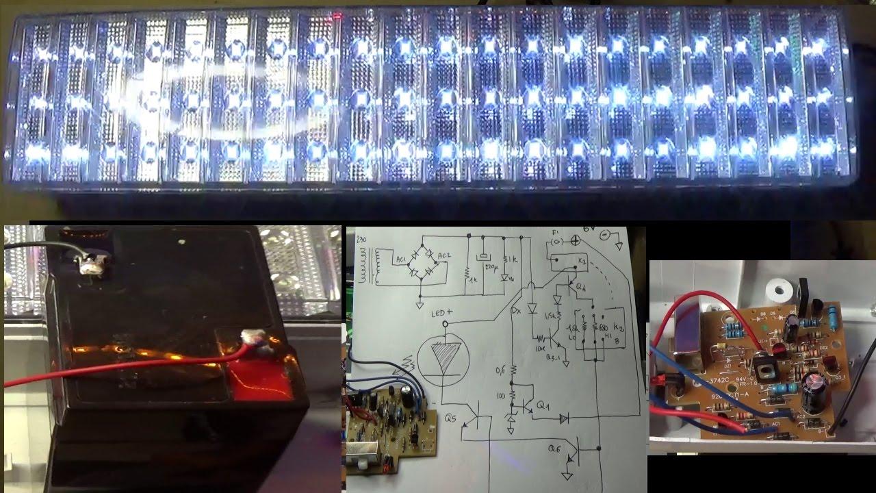 Schema Elettrico Lampada Di Emergenza Beghelli : Pieraisa modifica lampada emergenza a led per batteria a v