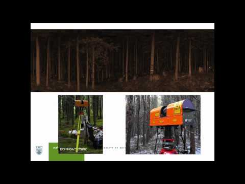 Dr. Nicholas Coops: Assessment of forest attributes using airborne and terrestrial LiDAR - pt. 2