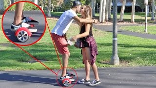 PICKING UP GIRLS USING A HOVERBOARD PRANK! | HoomanTV