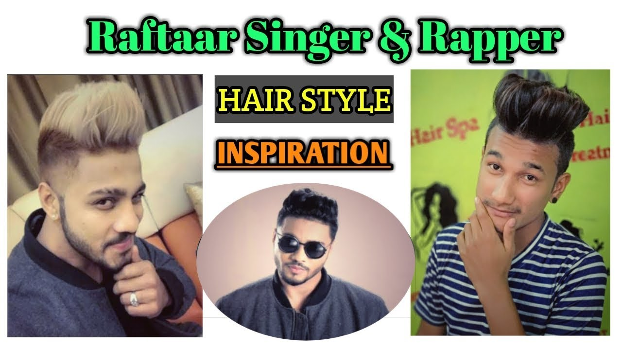Raftaar Hairstyle Raftaar New Look Curly To Straight Hair Hair