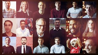 FC Bayern says Thank You & Merry Christmas!