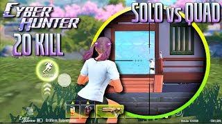 MINISTRO DE 8X + SNIPER = HUMILHANDO SQUADS! - CYBER HUNTER