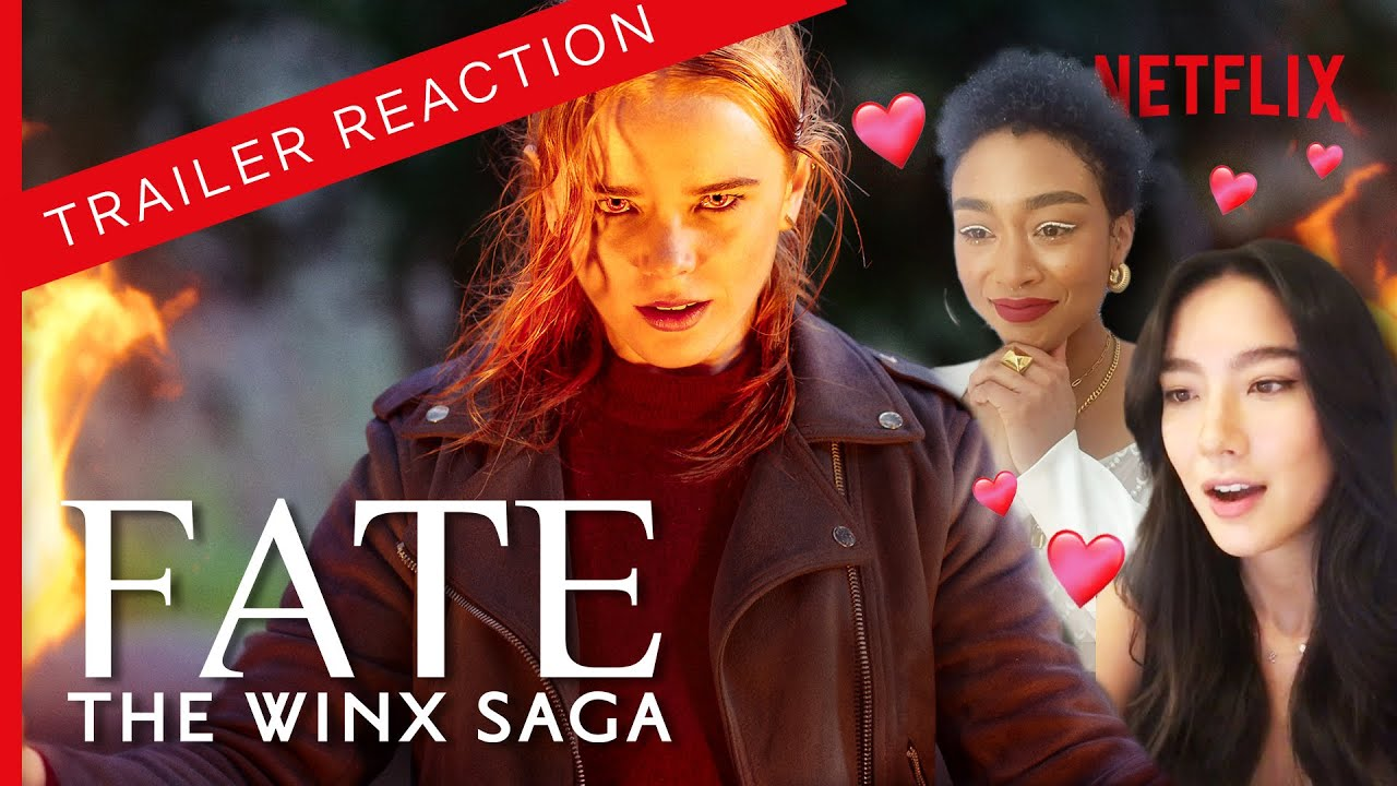 Chilling Adventures of Sabrina Cast React to Their Sister in Fate: The Winx Saga Trailer