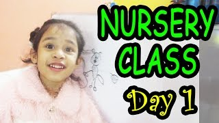 primary education in school | Nursery Class | Day 1 | Toppa