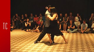 Tango: María Inés Bogado y Jorge López, 29/9/2016, Patio de Tango 2/4
