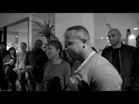 Yo Gotti is presented with a 5 Billion Stream Plaque