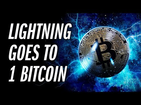 The First 1 BTC Channel Goes Live On The Bitcoin Lightning Network ⚡️