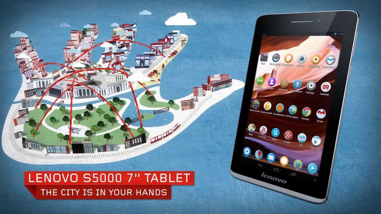 Lenovo S5000 Tablet Tour Youtube