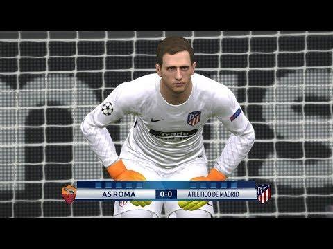 As Roma vs Atletico Madrid l Uefa Champions League l Penalty Shootout