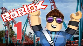 Roblox / Theme Park Tycoon 2 (ep: 1) / Rollercoaster of Dreams!