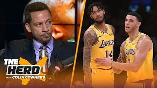 Chris Broussard on Lakers shut downs & why Draymond is expendable on the Warriors | NBA | THE HERD