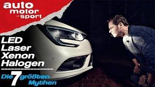 Alles Blender? Die 7 größten Mythen zu Xenon, LED & Co - Bloch erklärt #57 | auto motor & sport