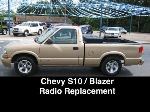 Chevy S10 / Blazer Radio Install - YouTube