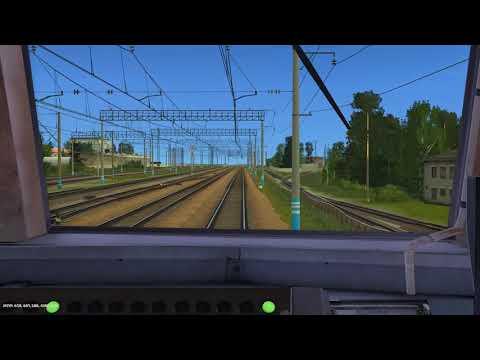 Trainz12 | Москва-Киевская - Калуга-1 на ЭР2