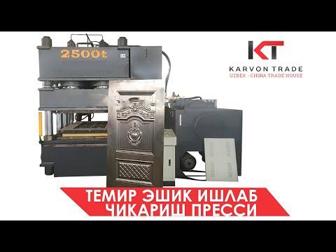 Temir eshik ishlab chiqarish biznesi | Uskuna ishlash jarayoni | Karvon Trade LLC