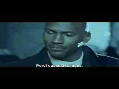Michael Jordan - Falhas (Failure) Nike Commercial