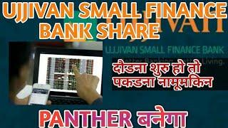 UJJIVAN SMALL FINANCE BANK SHARE LATEST UPDATE| UJJIVAN SMALL FINANCE BANK SHARE CURRENT PRICE LEVEL